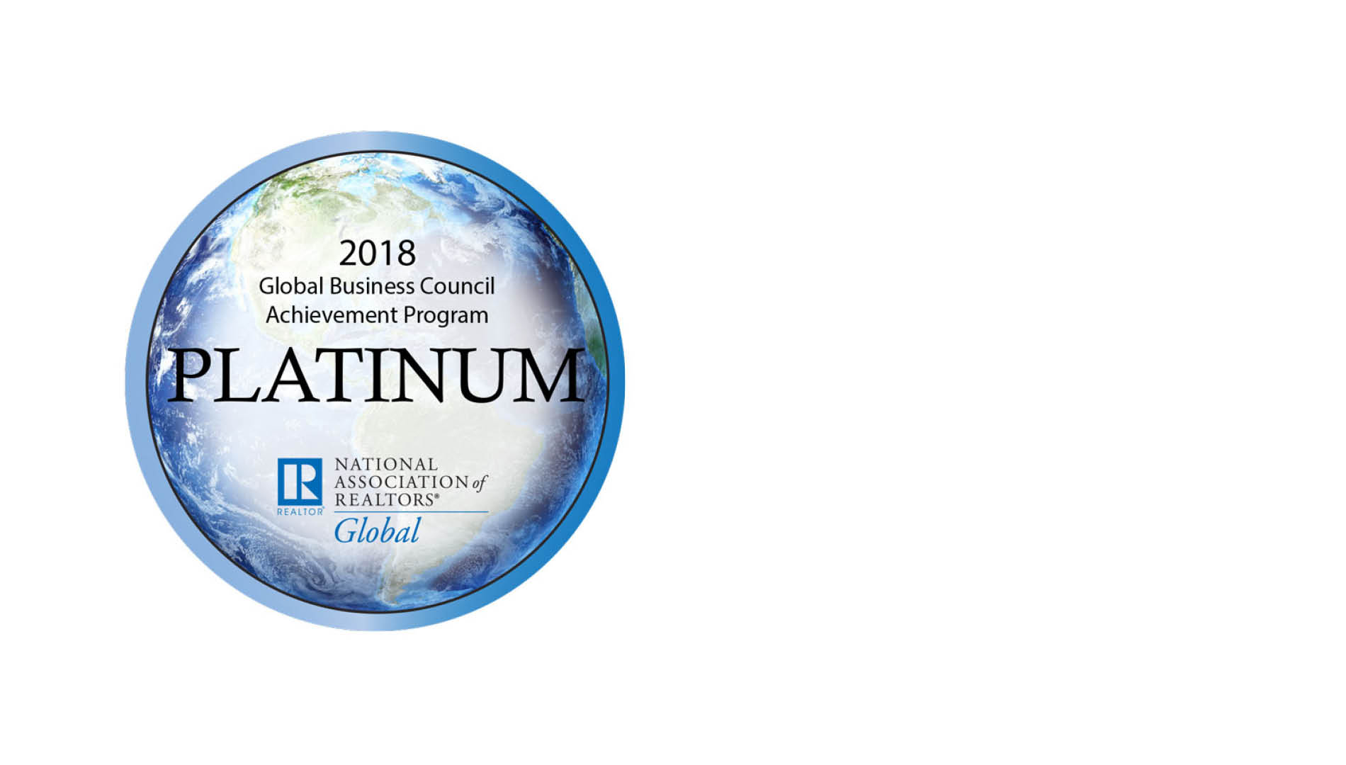 Global Network 2018 NAR Platinum Award